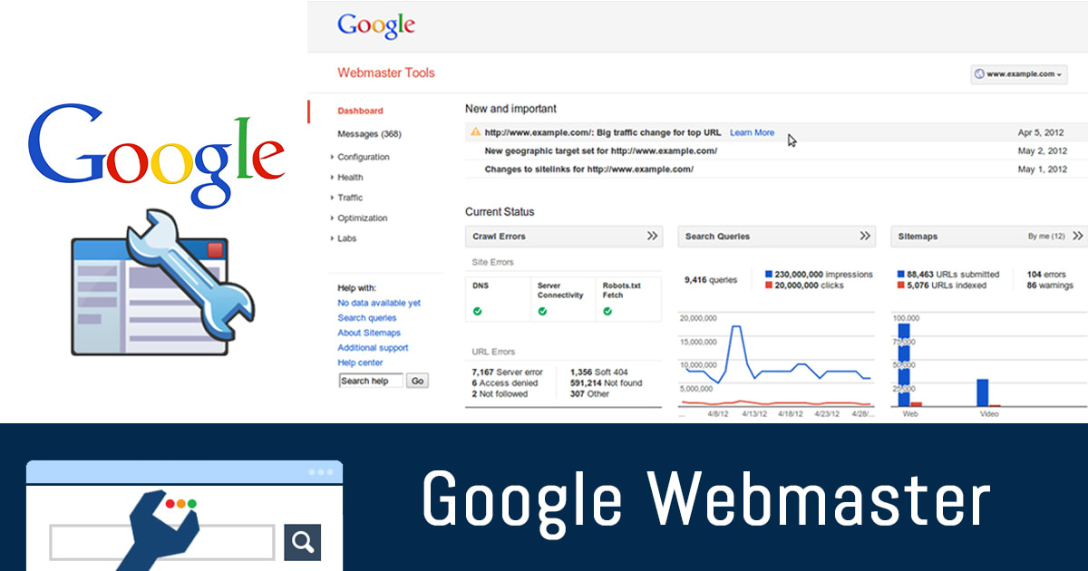 Best Digital Marketing Tool Google Webmaster