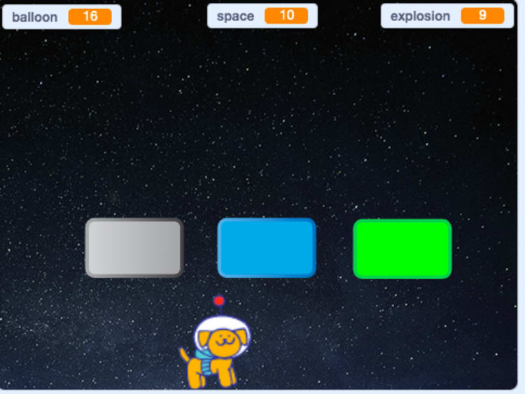 How to build video game coin animations in Scratch
