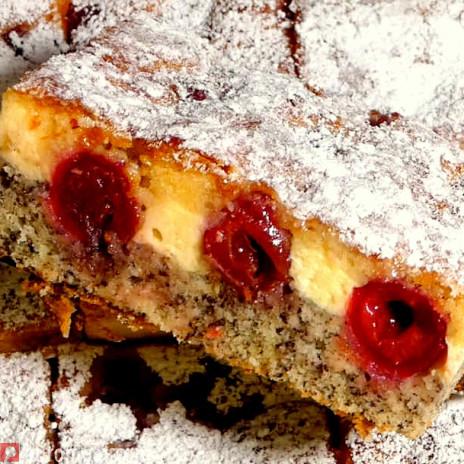 Kirsch Quark Mohnkuchen Euromeal Com