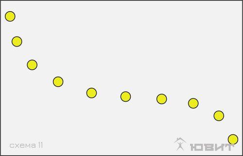 11 схема расположения светильников