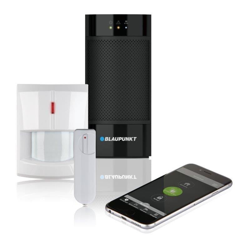 Blaupunkt Smart Home Alarmanlage Q3000, Bewegungsmelder, Tür/Fenstersensor