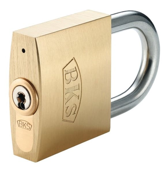 BKS Janus 46 Hangschloss mit 3 Schlüssel