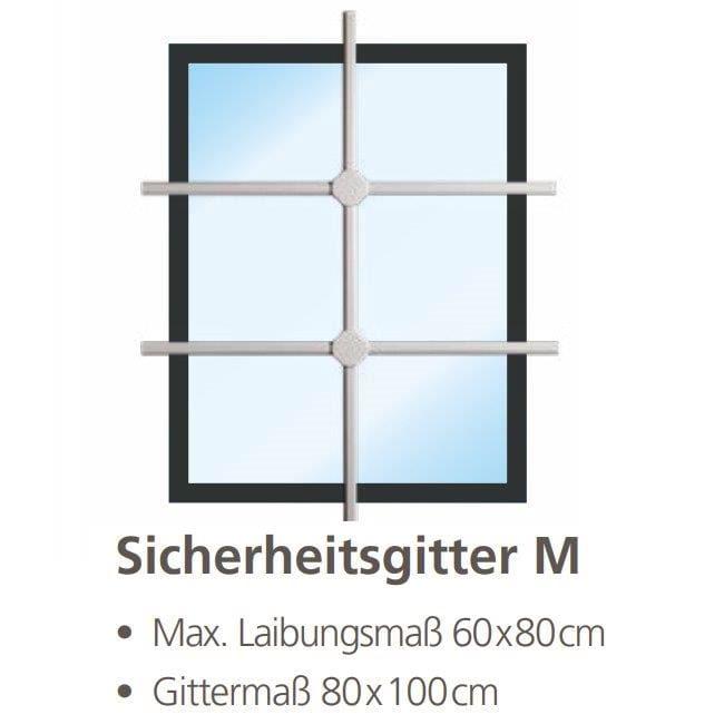 Burg Wächter Fenster-Sicherheitsgitter WinProtec M