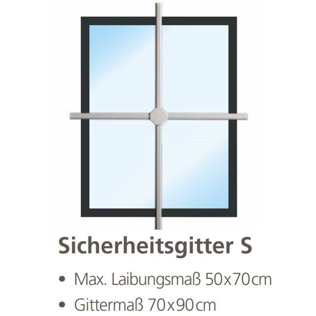 Burg Wächter Fenster-Sicherheitsgitter WinProtec S
