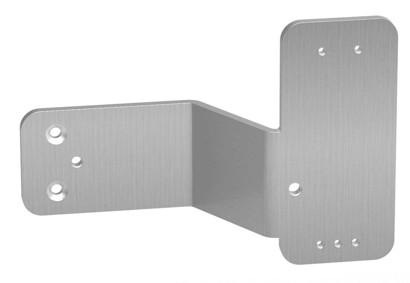 Montageplatte unter Panikstange links