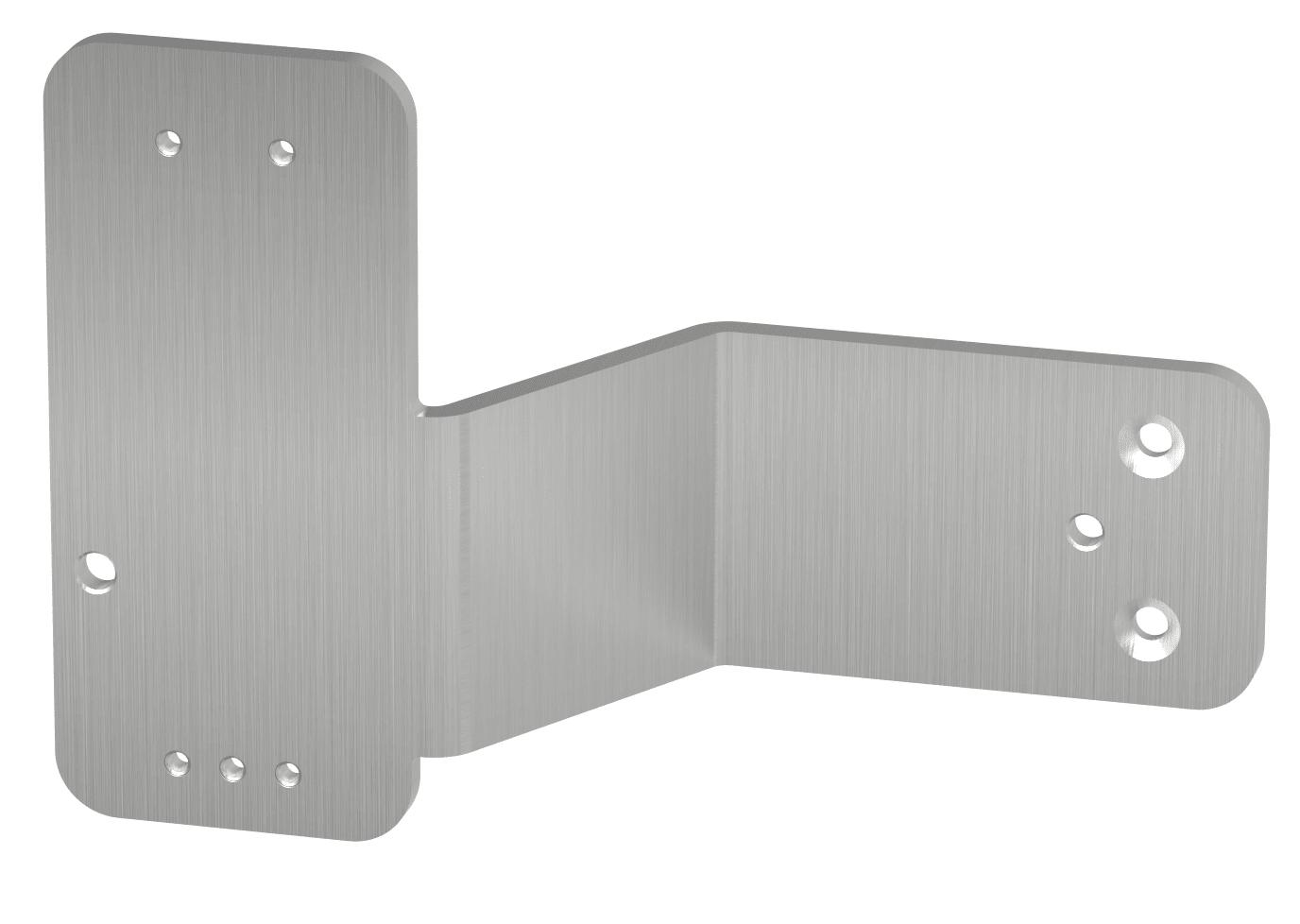 Montageplatte unter Panikstange rechts