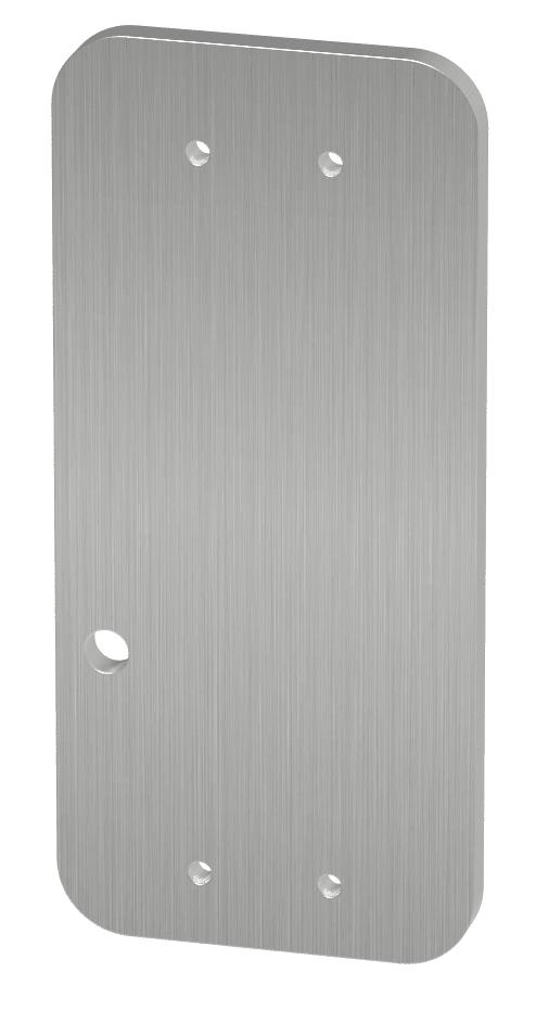 Montageplatte für Brandschutztüre