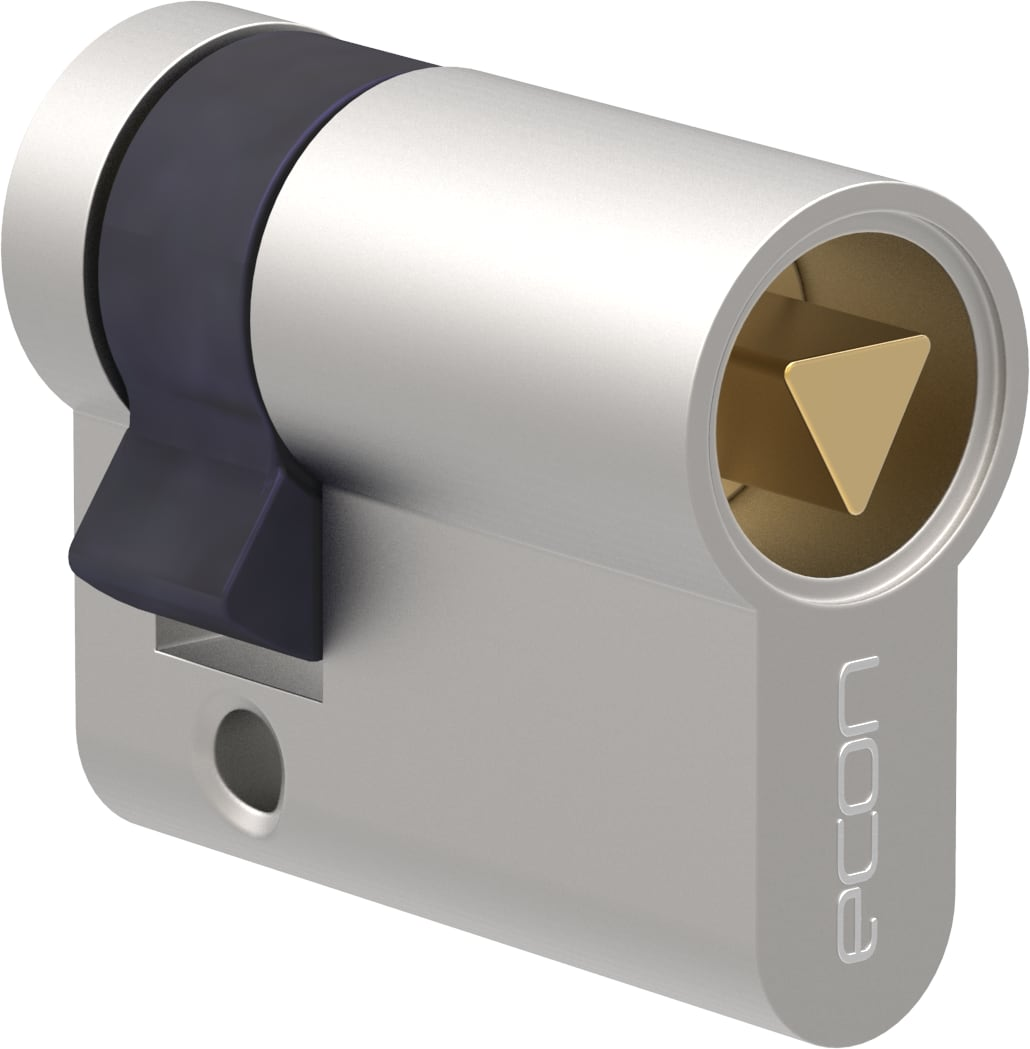 Profilhalbzylinder mit Dreikant 7 mm