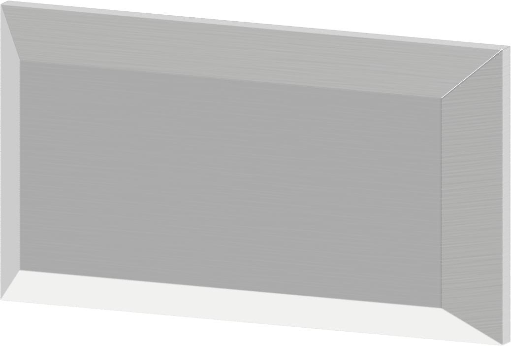 Satz Montageplatte für nach außen aufgehende Türen SBR