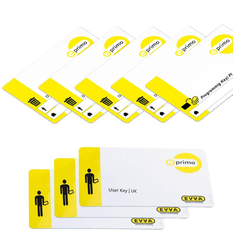 EVVA e-primo Air Medienkit mit Schlüsselkarten