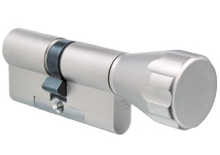 EVVA 4KS Knaufzylinder mit 3 Schlüssel