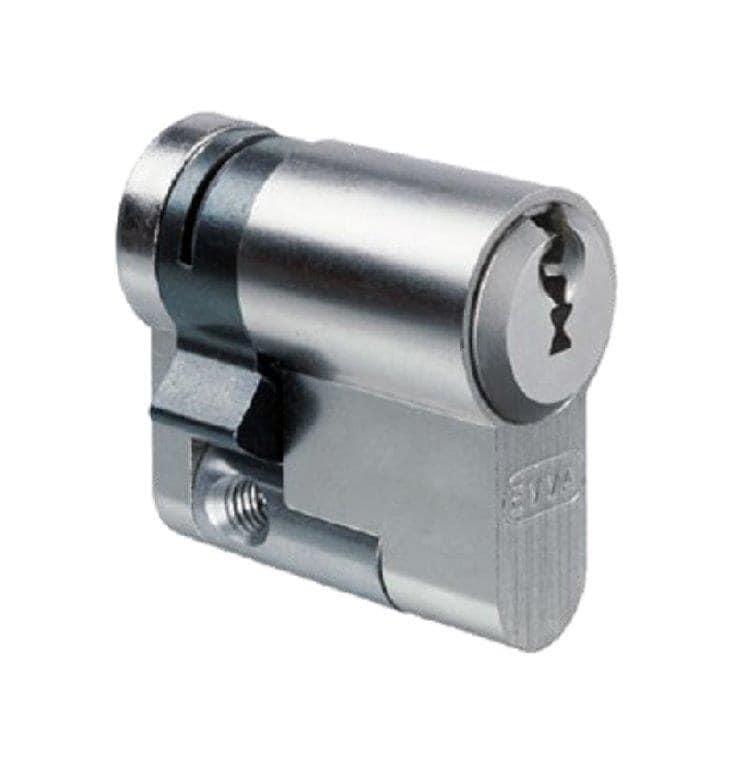 EVVA EPS Halbzylinder mit 3 Schlüssel