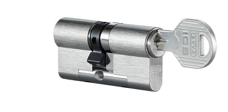 EVVA ICS Doppelzylinder mit 3 Schlüssel