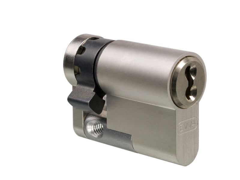 EVVA ICS Halbzylinder mit 3 Schlüssel