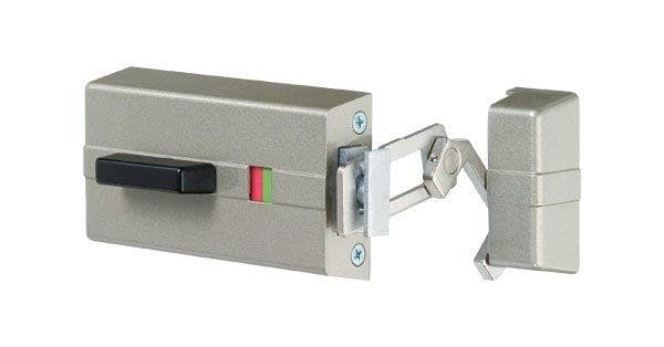 EVVA ICS Zusatzschloss K900 mit Außenzylinder (für nach Innen öffnende Türen)