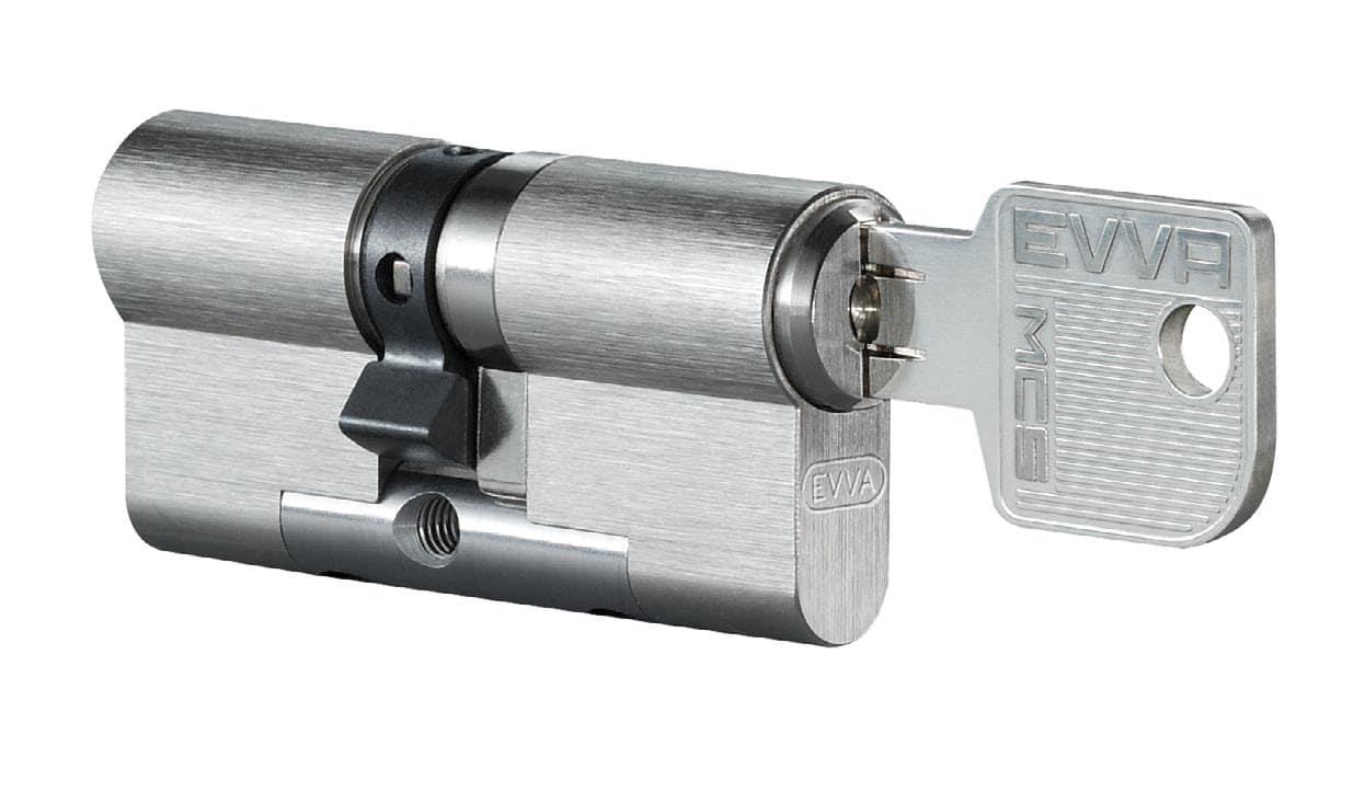 EVVA MCS Doppelzylinder mit 3 Schlüssel