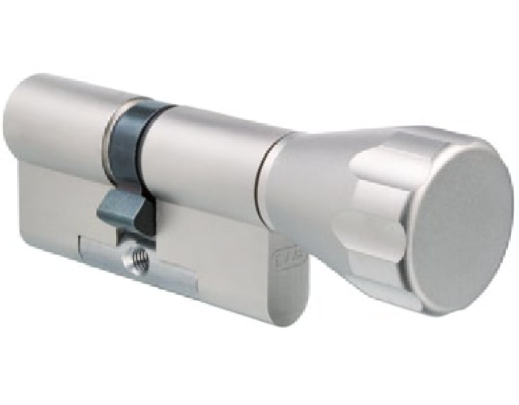 EVVA MCS Knaufzylinder mit 3 Schlüssel