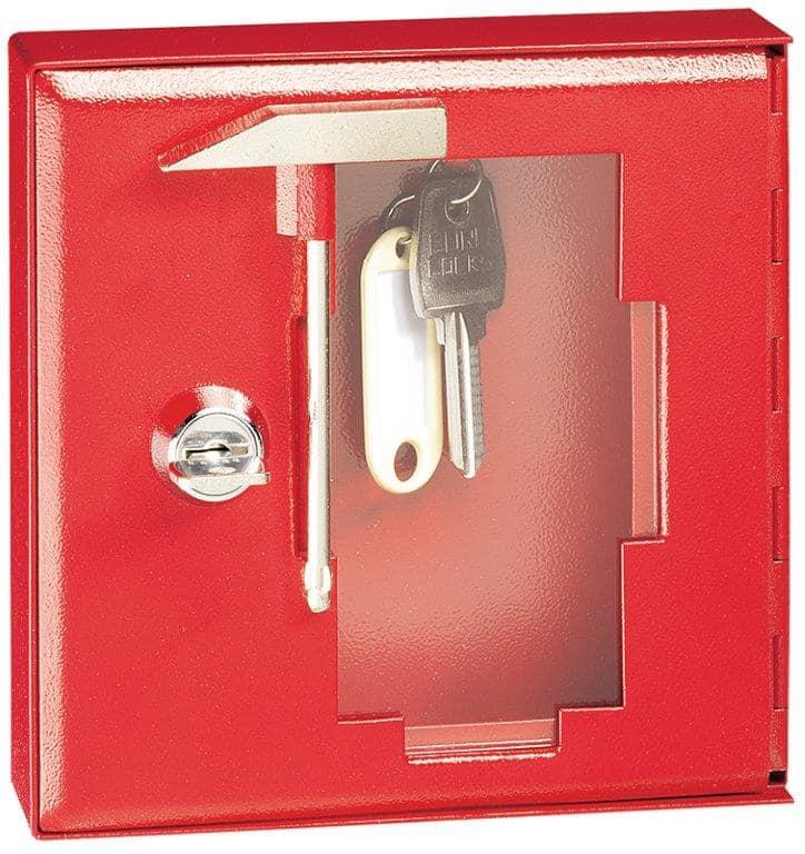 Müller Safe NSK Notschlüsselkasten mit Glas und Klöppel