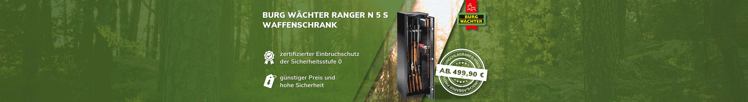 Burg Wächter Ranger N 5 S
