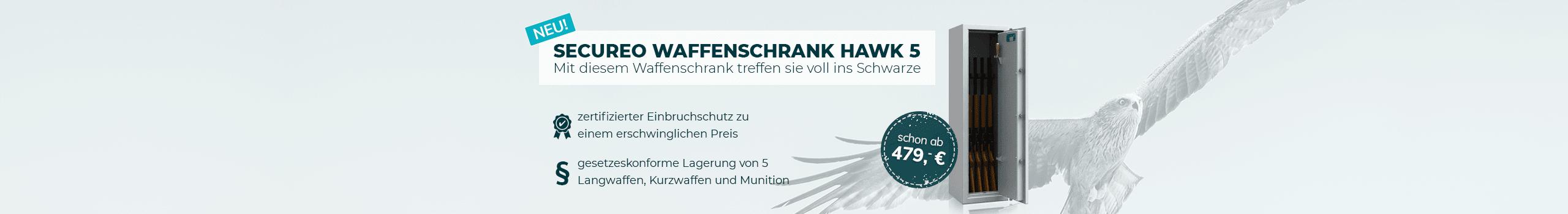 Waffenschrank Hawk 5