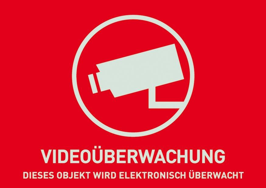ABUS Warnaufkleber Videoüberwachung