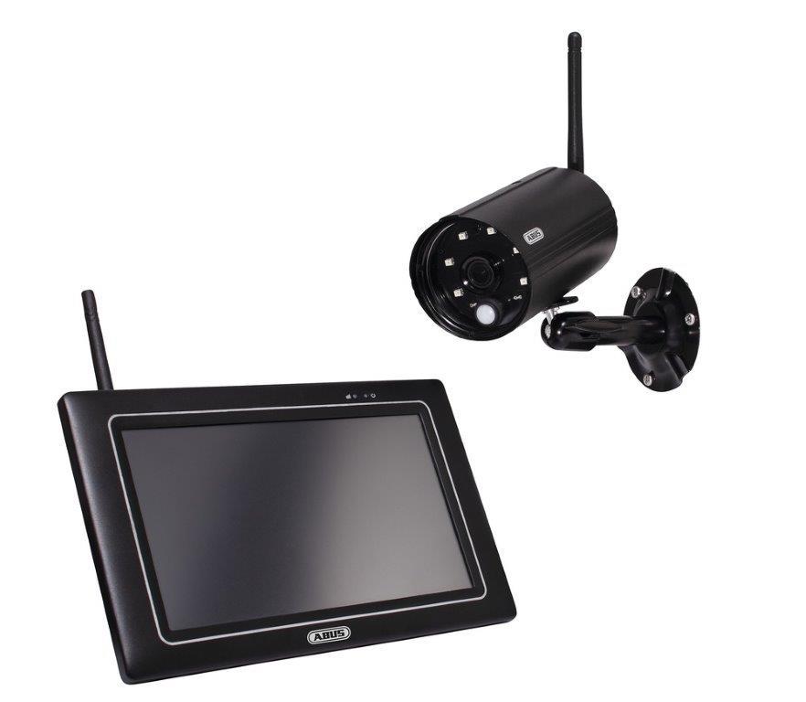 """ABUS OneLook Überwachungsset mit 7"""" Touch-Monitor und Full HD Funk-Außenkamera PPDF16000"""