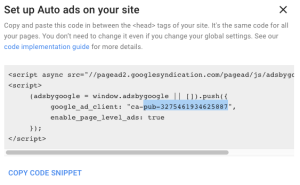 The Easiest Way To Use Google AdSense Auto Ads