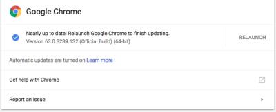 How To Get Google Chrome Update Dev 66, Beta 65, Stable 64 – bipolar