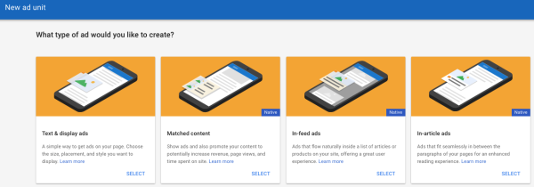 Google AdSense Matched Content Unit