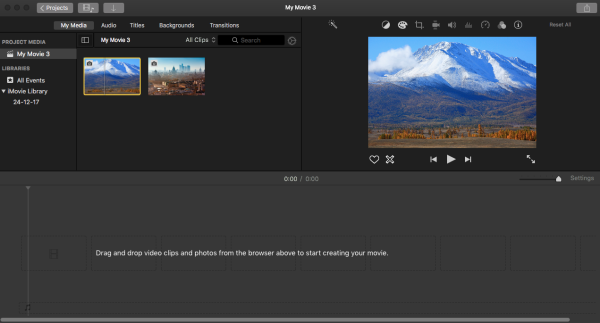 imovie tutorial for students
