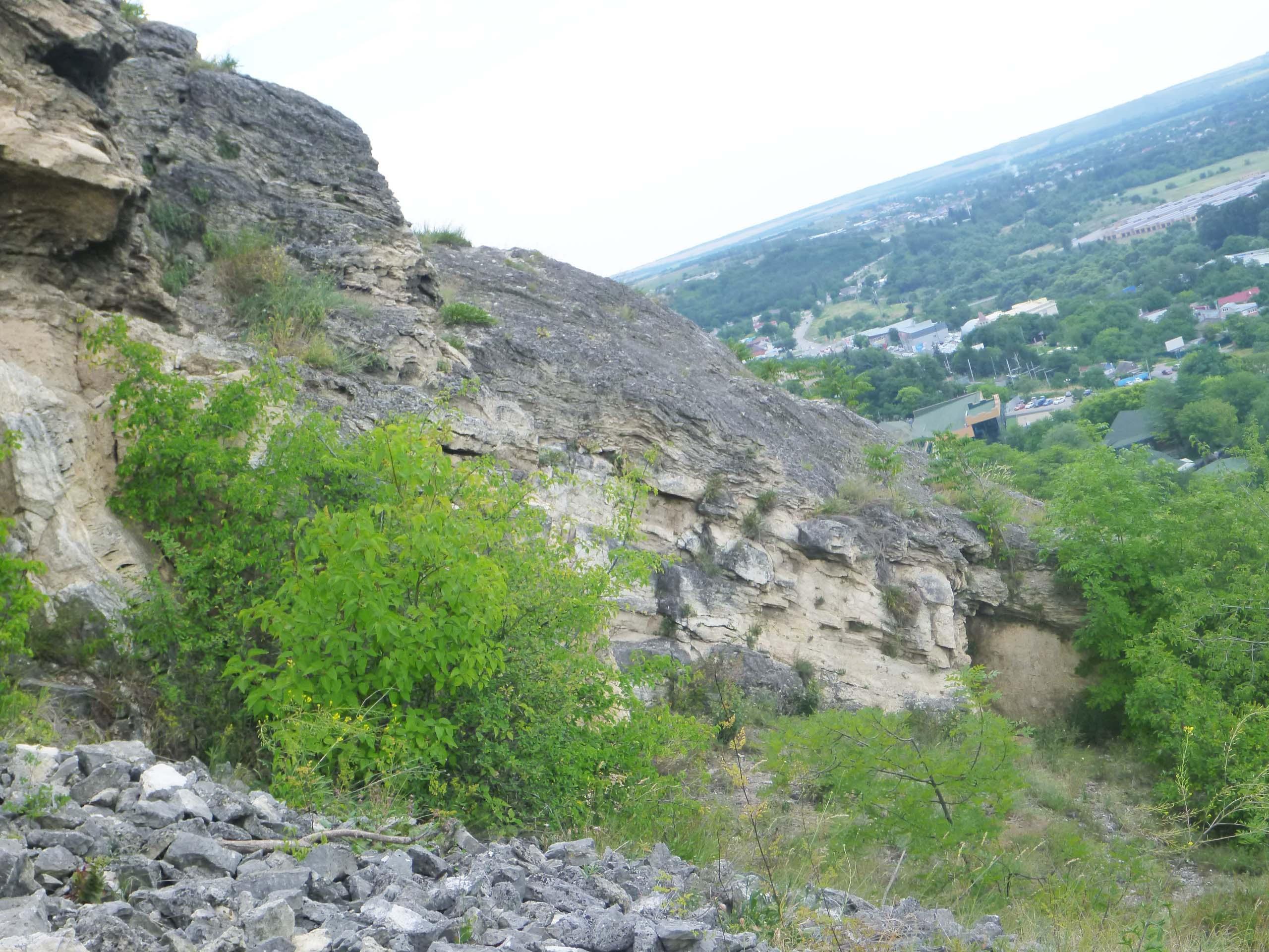 Склон горы Машук