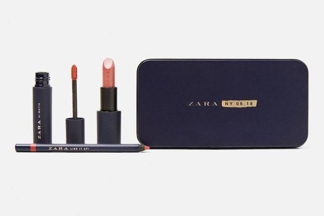 Неожиданно для всех: первая коллекция косметики для губ от бренда Zara