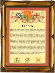 Surname Database: Ashpole Last Name Origin