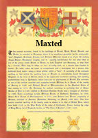 Surname Database: Maxted Last Name Origin
