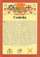 Surname Database: Cooksley Last Name Origin