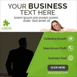 company ad banner