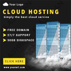 Cloud Hosting Ad Banner