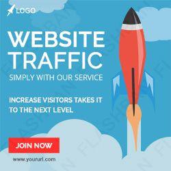 Website Traffic Ad Banner