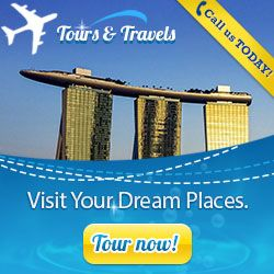 html5 tours and travels banner