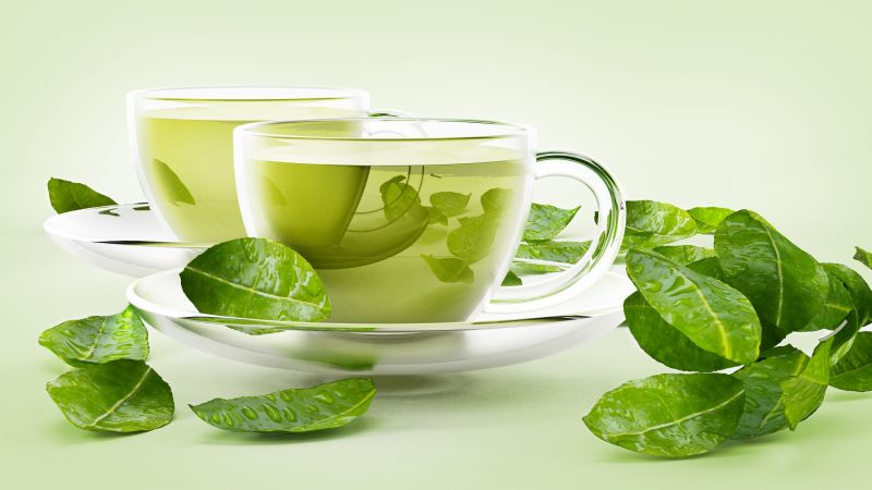 Green tea to get rid of dandruff