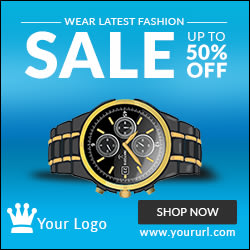 Watch HTML5 Sale Ad Banner