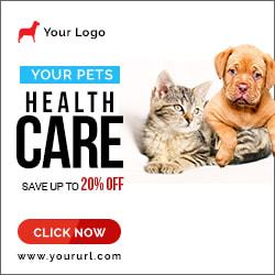 Pet Shop Ad Banner