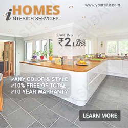Banner for Interior Services
