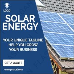 Solar Ad Banner