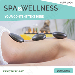 Spa and Wellness Ad Banner