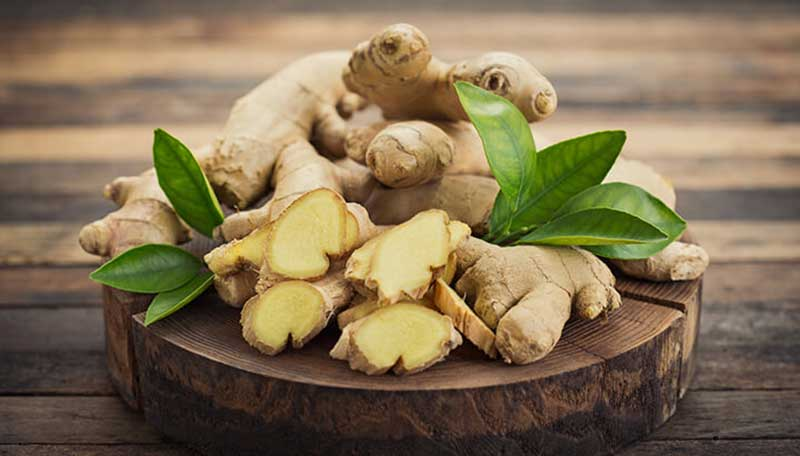 Ginger to get rid of dandruff