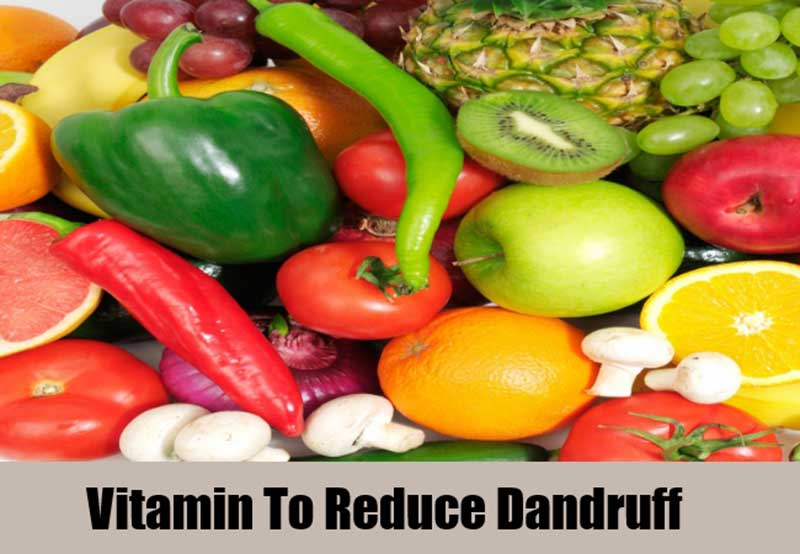 Vitamin to get rid of dandruff