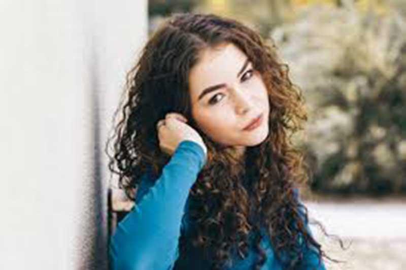 Curly hair women