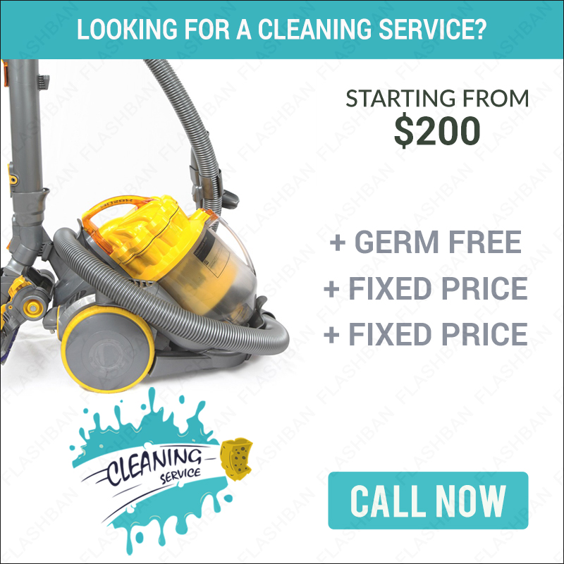 Cleaning Service banner 2
