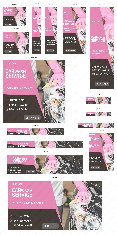 Car Service Ad Banner